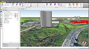 Shift seamlessly between 2D and 3D viewing perspectives to more clearly identify modeling issues and make changes. Freely rotate, pan, zoom, and fly through the model to any perspective to review cross sections, bridge structures, culverts, levees, ineffective flow areas, and more.